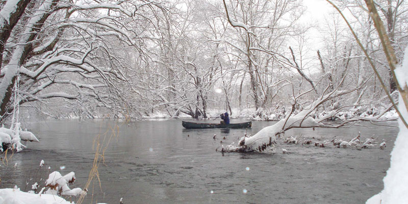 Craig Creek in the Snow