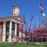 Craig County Courthouse in Spring